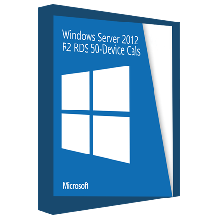 Orjinal Windows Server 2012 Remote Desktop Services device 50 Dijital Lisans