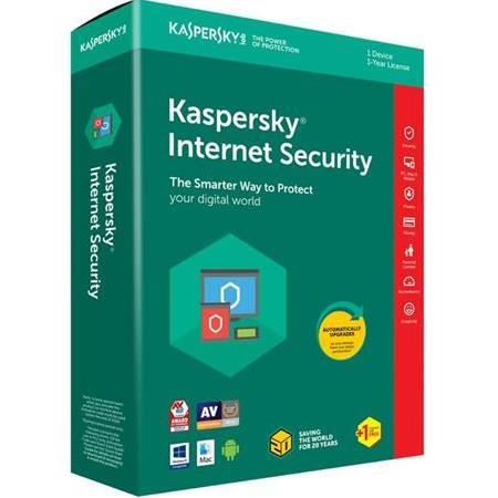 Kaspersky İnternet Security 2019 1 Yıl 1 Pc