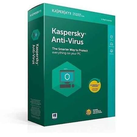 Kaspersky Anti-Virus 2019 1 Pc 1 Yıl